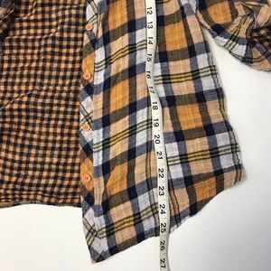 1378261f Derek Heart Tops - [Derek Heart] Plaid Button-Up Flannel